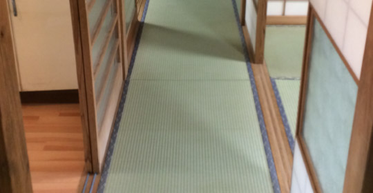 畳を利用したバリアフリー化